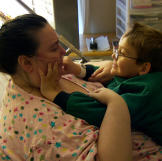 Penny is a devoted mother to her son, Liam, but her weight restricts h