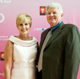 One year after being diagnosed with breast cancer, Lori Allen is shari