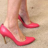 Pink Pumps by