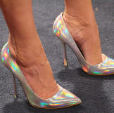 Silver Pumps by Stella McCartney