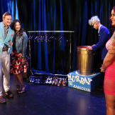 With the help of a magician, Stacy and Clinton made Dawn's wardrobe di