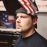 Paul Teutul Jr. from American Chopper's early days. The series pilot,