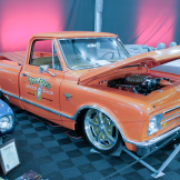 1967 CHEVROLET C10 CUSTOM PICKUP  Lot #677