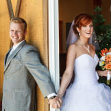 Karen planned a fairytale wedding, and she even arrived by horse and c