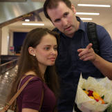 Alan and Kirlyam arrive in L.A. after a long flight from Brazil.