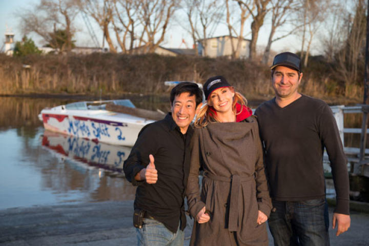 In Bifurcated Boat, Kari, Tory and Grant tackle one of the most accursed myths ever on MythBusters. The origin: a viral photo that shows a boat split in two by a channel marker, but according to the driver he was only going 25 mph when the collision happened.