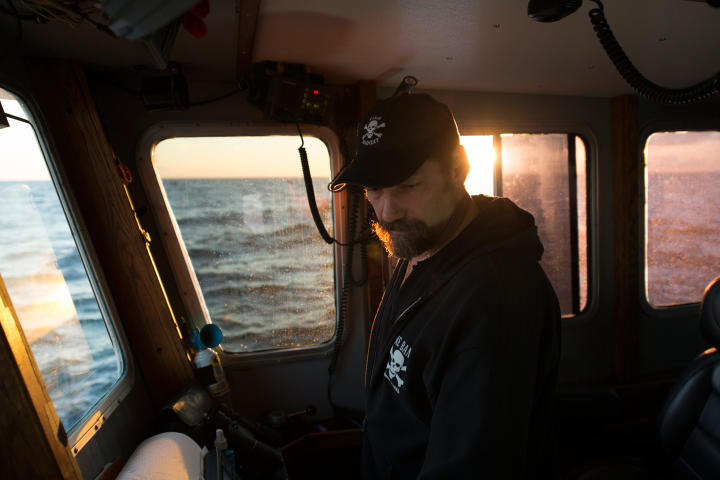 Johnathan Hillstrand, captain of the Time Bandit for King season.