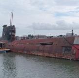 U-475 Soviet Black Widow Submarine
