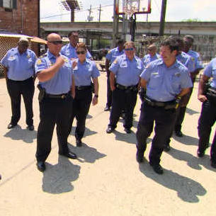 New Orleans Police Visit Villalobos to Offer Their Support