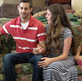 Jill and Derick's Big Announcement to the Duggars Photos