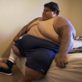 My 600 lb Life Michael 510 before