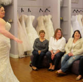 Plus-size brides can't wear most sample-size gowns at other bridal sal