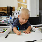 Rhonda's son and youngest Williams child, Nikolas, expresses his creat