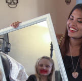 Daya and Cassidy play with makeup, and the results are hilarious.