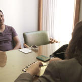 Mohamed visits a lawyer to learn about U.S. marriage laws. He's surpri