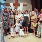 Bill and Jen chose to have the kids' baptism in Florida because Bill's