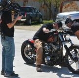 Joe and Mike inspect Bike
