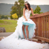 Lakeside Wedding and Electric Blue Election Pictures