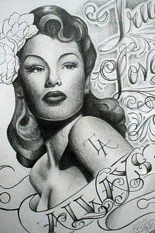photo slideshow kat von d s tattoo portfolio la ink tlc. Black Bedroom Furniture Sets. Home Design Ideas