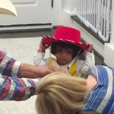 Zoey is the sweetest cowgirl ever.