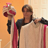 Sheena's mom, Neeru, is a designer and wedding planning comes naturall
