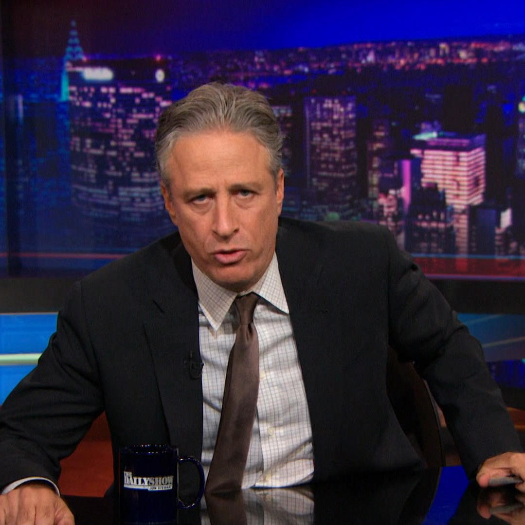 Tia Visits 'The Daily Show with Jon Stewart' to Speak Up for Pit Bulls!