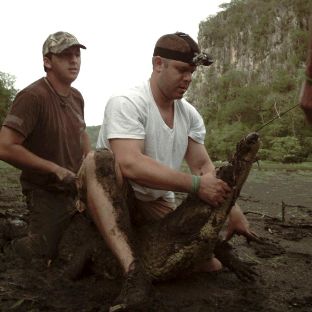 Investigating Monster Crocs Living a Foot Underground