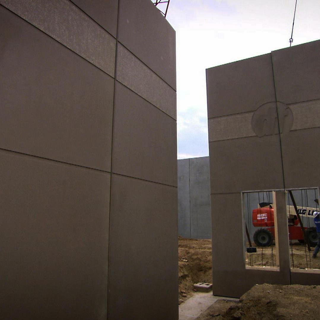 Pre-Cast Concrete Walls