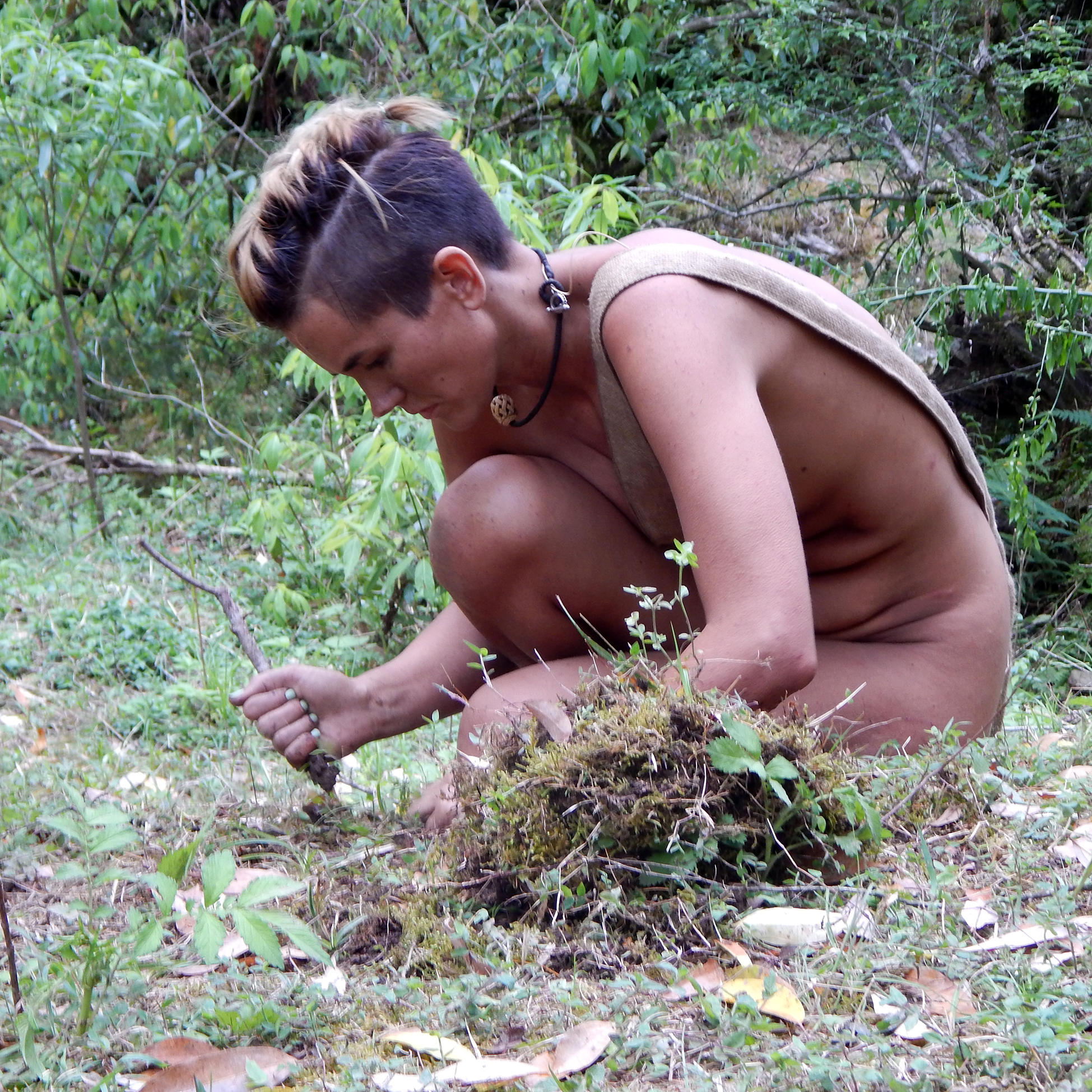 from Milo naked and afraid uncensored cassie