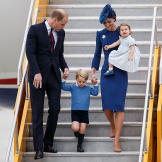 2016 Royal Tour To Canada Of The Duke And Duchess Of Cambridge - Victo