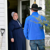 It's Christmas in Punxsutawney, Pennsylvania, and Mary, the matriarch