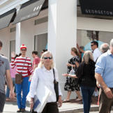 Loyal fans line up outside Georgetown Cupcake every day to get a taste