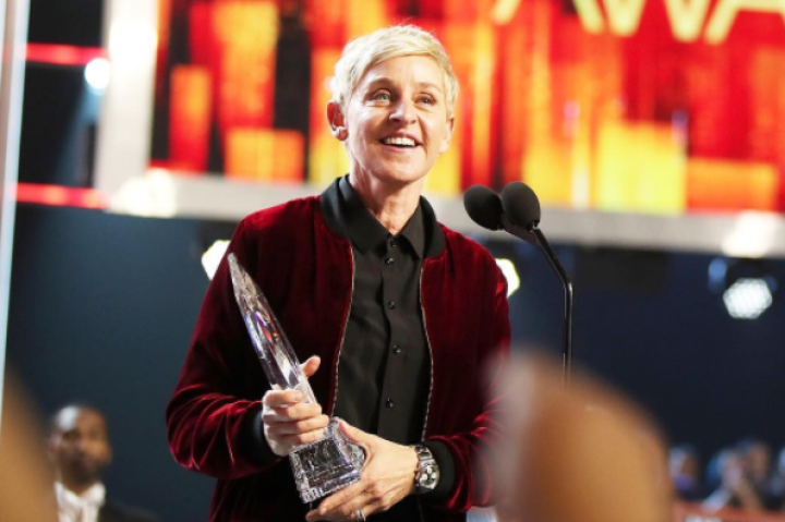 Ellen Degeneres Makes People's Choice History