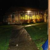 I have taken about a 100 pictures of our greenhouse, but only this one