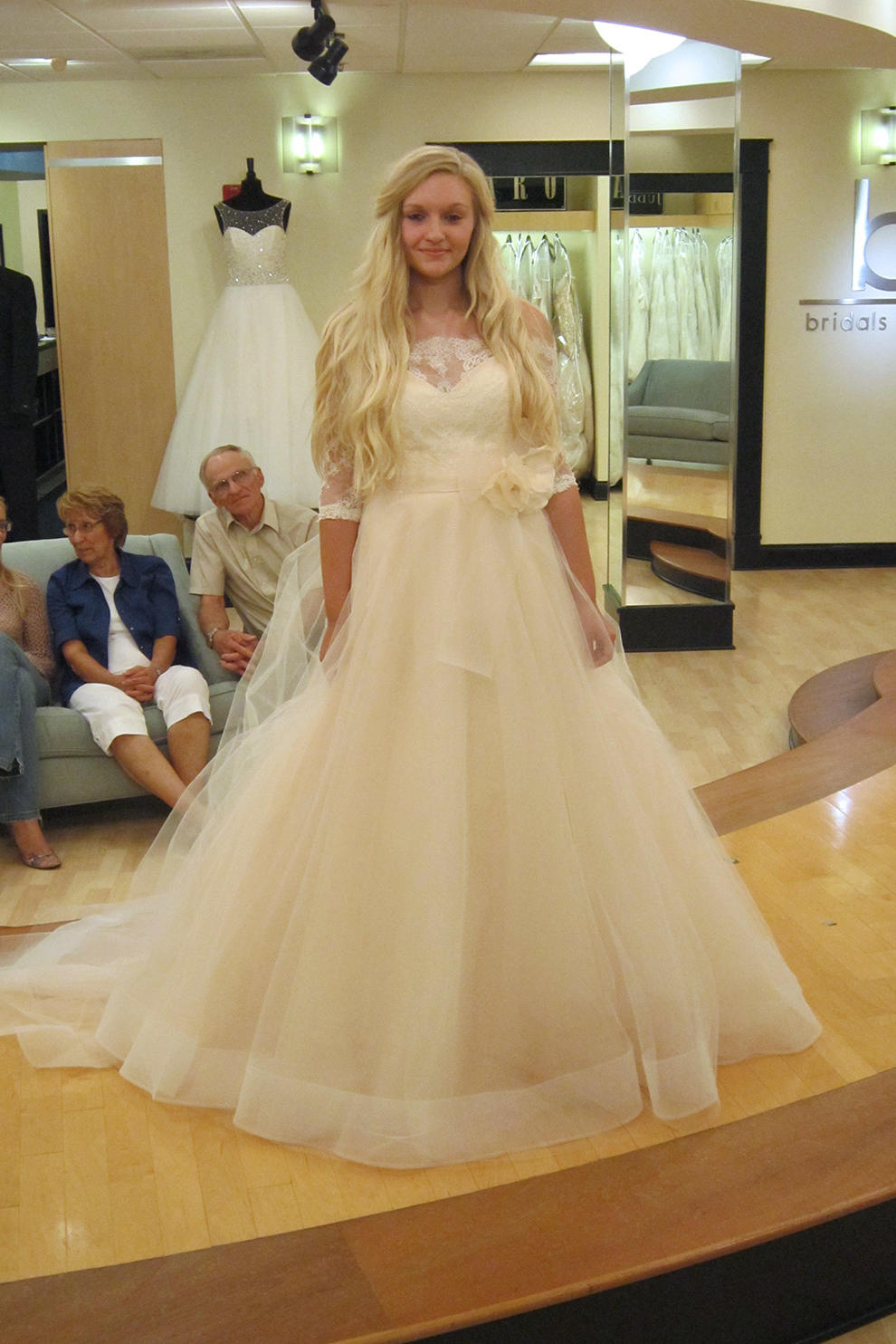 Wedding Dresses In Atlanta Store : Season featured wedding dresses part say yes to the