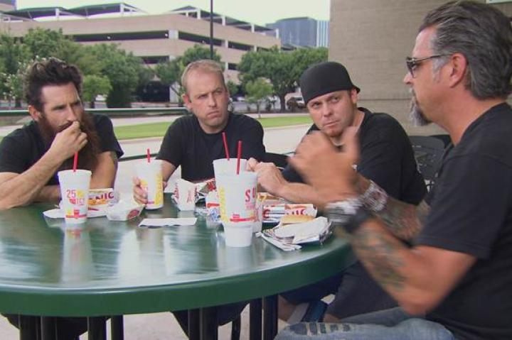 The Gas Monkey crew grabs lunch at Sonic
