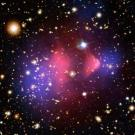 Dark matter composition is up for debate, with subatomic particles and black holes considered as candidates.