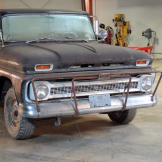 The 1965 Chevy C-10 Pickup in its original state.