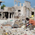 The devastating January 2010 earthquake in Port-au-Prince, Haiti, left