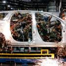 Robotic welders are also a common sight in automotive factories. These
