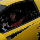 Jen surprised her adrenaline junkie husband with a trip to Texas Motor Speedway for his 35th birthday where Bill suited up to drive a lap around the track in a race car.