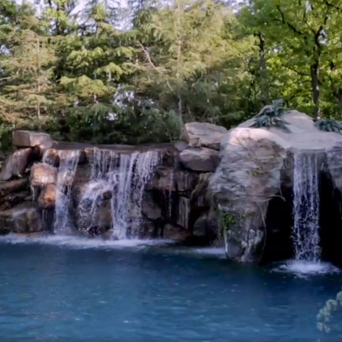 Waterfalls at your command the pool master animal planet for Pool show on animal planet