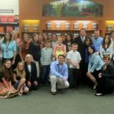 Bookstore after bookstore the Duggar Family meets fans and friends.