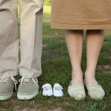 And a baby makes three! Jill and Derick are expecting a baby in spring