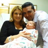 It's a boy!  Baby Carlo Salvatore was born February 14, 2011, at 5:11