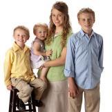 (From Left to Right) Jackson, Jordyn-Grace, Jana, and Josiah.