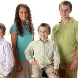 (From Left to Right) Jeremiah, Jinger, James, and Joseph.