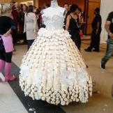 EPISODE: FASHION VICTIMS The finished wedding dress.