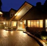 Solar-Powered Landscape Lighting