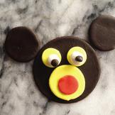 Banana Chocolate Chip Monkey Cupcakes Decorating Guide